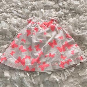 Carter's baby girl butterfly dress 3 months